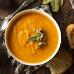 Butternut Squash and Sweet Potato with Chilli Soup